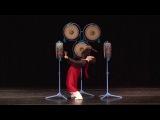 Корейский традиционный танец -танец с барабанами